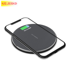 10W Wireless Charger Qi Fast Charging Pad Power For Xiaomi R