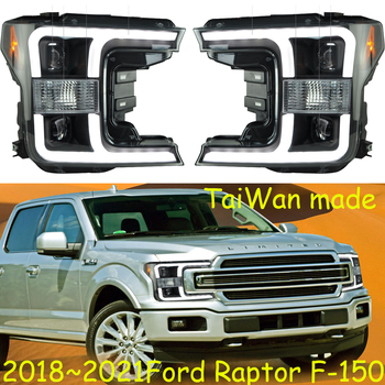 TaiWan car bumper headlamp for Raptor F-15 headlight F150 F 150 2018~2021y LED DRL car accessories HID xenon raptor fog light