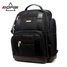 BOPAI Brand Multifunction Travel Backpack Bag Large Capacity Shoulders Bag Laptop Backpack Fashion Men Backpack Size 43*35*20cm