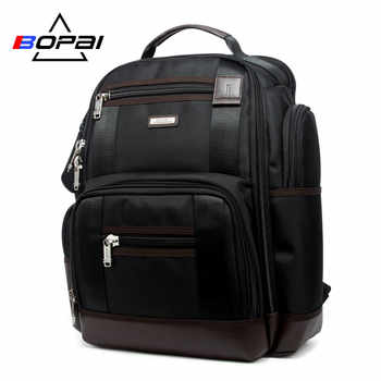 BOPAI Brand Multifunction Travel Backpack Bag Large Capacity Shoulders Bag Laptop Backpack Fashion Men Backpack Size 43*35*20cm - DISCOUNT ITEM  30 OFF Luggage & Bags