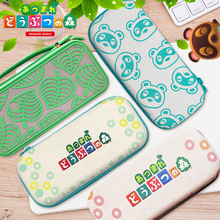 For Nintendo Switch/Lite Accessories Storage Bag for Animal Crossing Protective Hard Case Drop Resistant Mobile Console Bag