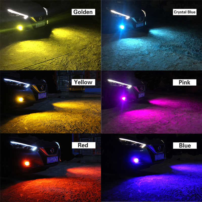 1 Buah Lampu LED Mobil 881 H27 Lampu Bohlam untuk Aveo 5 Hyundai Aksen Elantra Sonata Santa Fe Tucson Kia sportage RIO 5 Sorento Spectra
