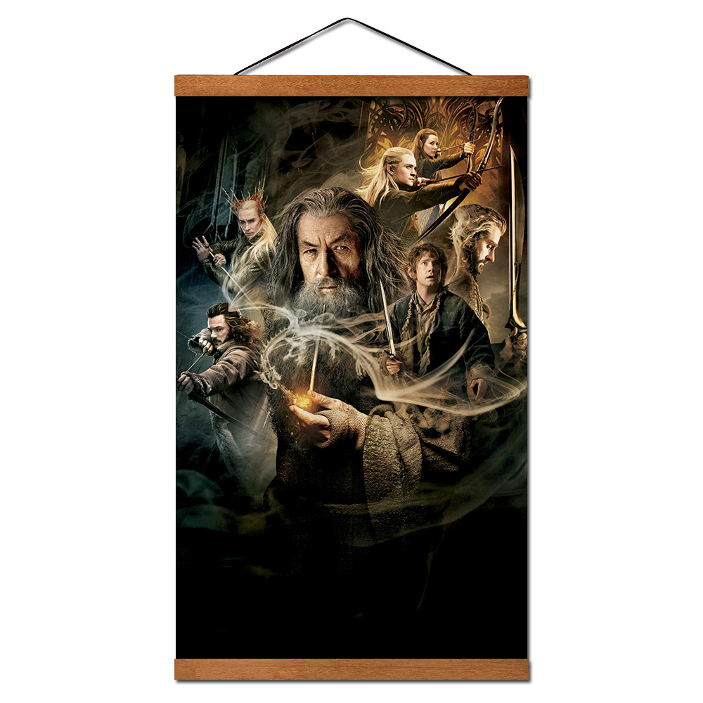 The Hobbit Movie Canvas Framed Print Wall Art ~ More Size