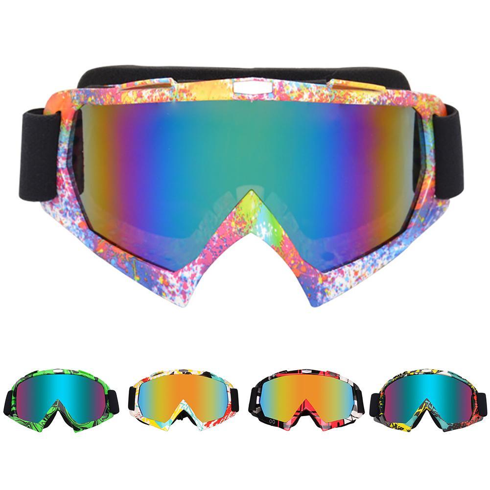 Outdoor Motocross ATV Motorcycle Skiing Goggles Windproof Racing Glasses Eyewear