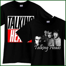 TALKING HEADS Rock Band Tribute Song CD Muziek Zwarte T-Shirt T-shirt Tee Sz S-3XL(China)