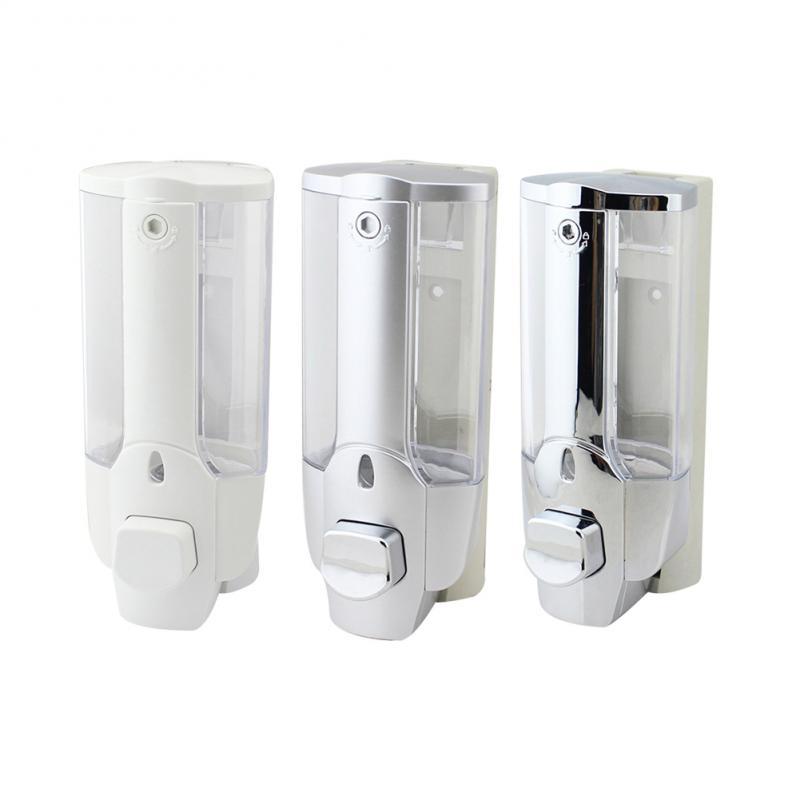1/2/3 Head Wall Mount Soap Dispenser Liquid Bathroom Disinfecting Hand Sanitizer Shower Shampoo Bathroom Accessories