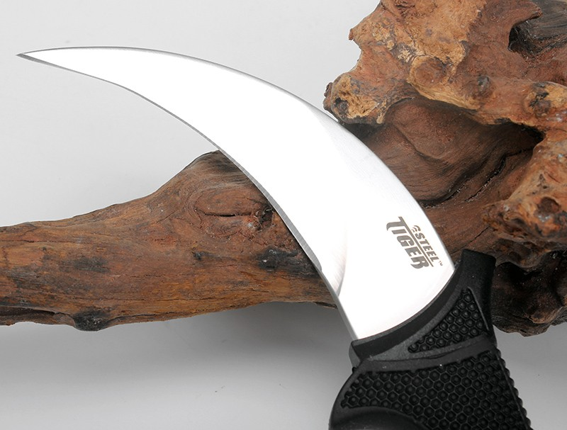 Rescue  Knives Survival Secure 59HRC Tigers Hunting Steel  Ex Quality Karambit Fixed Sheat Knife Outdoor Cold Camping High Tools