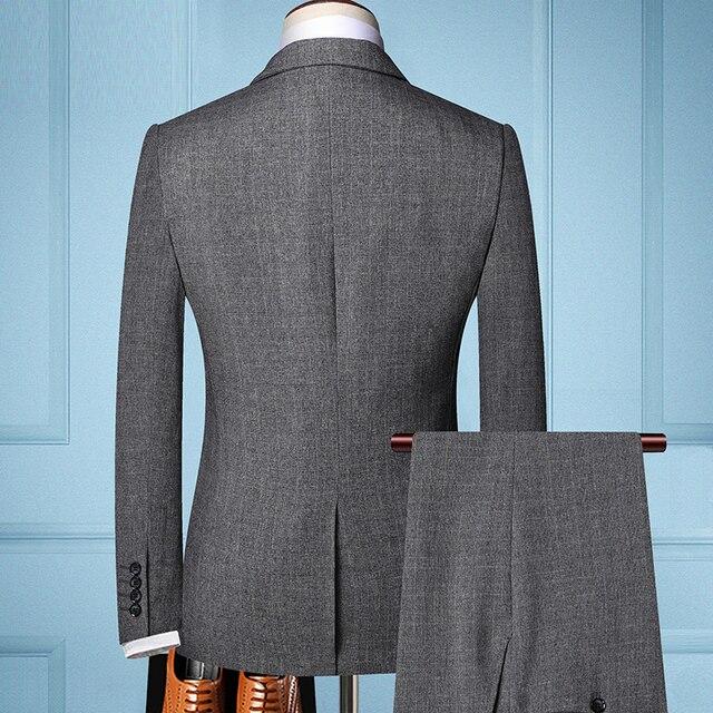 TIAN QIONG Brand Fashion Men 's Slim Fit Business Suit   4