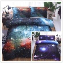Звездное небо одеяло ядро Подушка Комплект из трех предметов