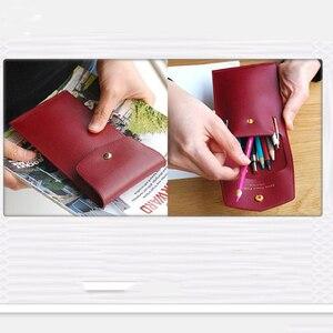 Image 3 - Japan Stahl Klinge Regel Gestanzte Stahl Punch stift tasche bleistift fall box Schneiden Form Holz Stirbt für Leder Cutter für Leder Handwerk