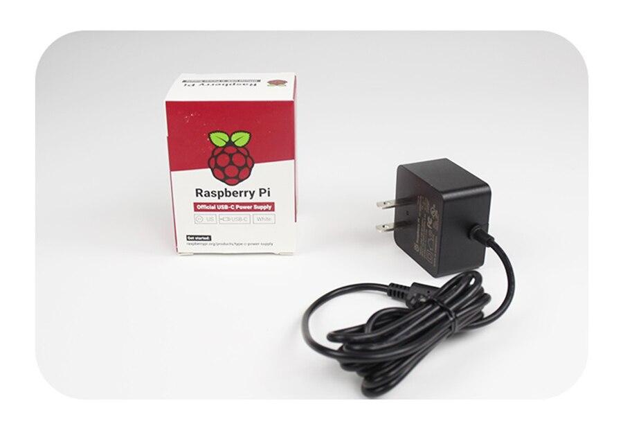 e recomendado USB-C fonte de alimentação para raspberry pi 4b