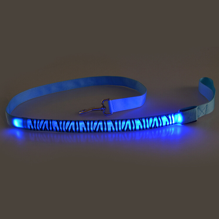 Shining Ban Ma Hand Holding Rope Fashion LED Traction Belt Flash Dog Traction Rope Lanyard
