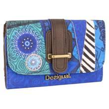 Vente en gros, Original espagne. Laugied – portefeuille à la mode pour femmes, Porte-monnaie en Feuille, Bleu, pour dames (14)