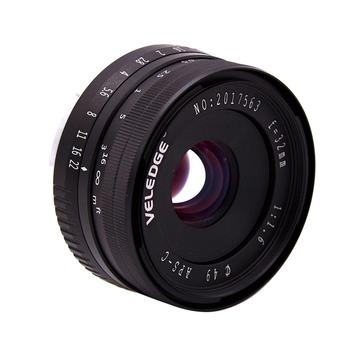 High Aperture 32MM F/1.6 Manual Focus Prime Lens for Sony E-Mount APS-C Mirrorless Camera for Sony A7III/A9/NEX 3/3N/5/NEX 5T/NE
