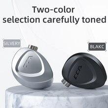 CCA CKX 6BA + 1DD HIFI MINI Monitor In Ohr Kopfhörer Musik Um Die Ohr Kopfhörer Ohrhörer Abnehmbare kabel 0,75mm 2Pin Mit Mic