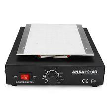 Hot 3C Eu Plug Lcd scherm Separator Verwarming Platform 220V Eu Plaat Glas Removal Telefoon Reparatie Machine Auto Warmte Glad plaat