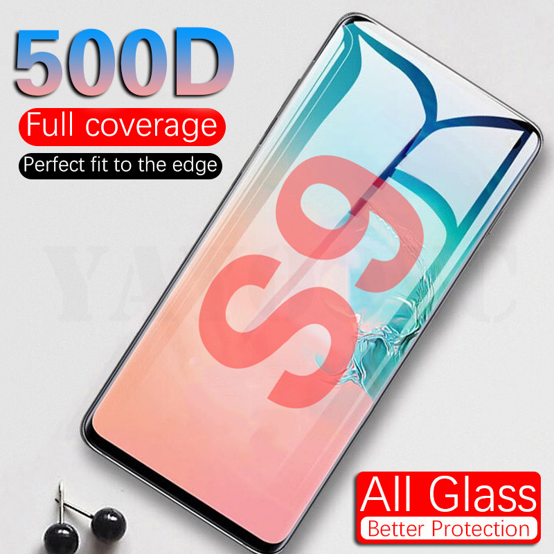 500D Tempered Glass For Samsung Galaxy S20 Ultra S8 S9 S20 Note 9 8 Screen Protector For Samsung S9 S20 Plus Protection Film