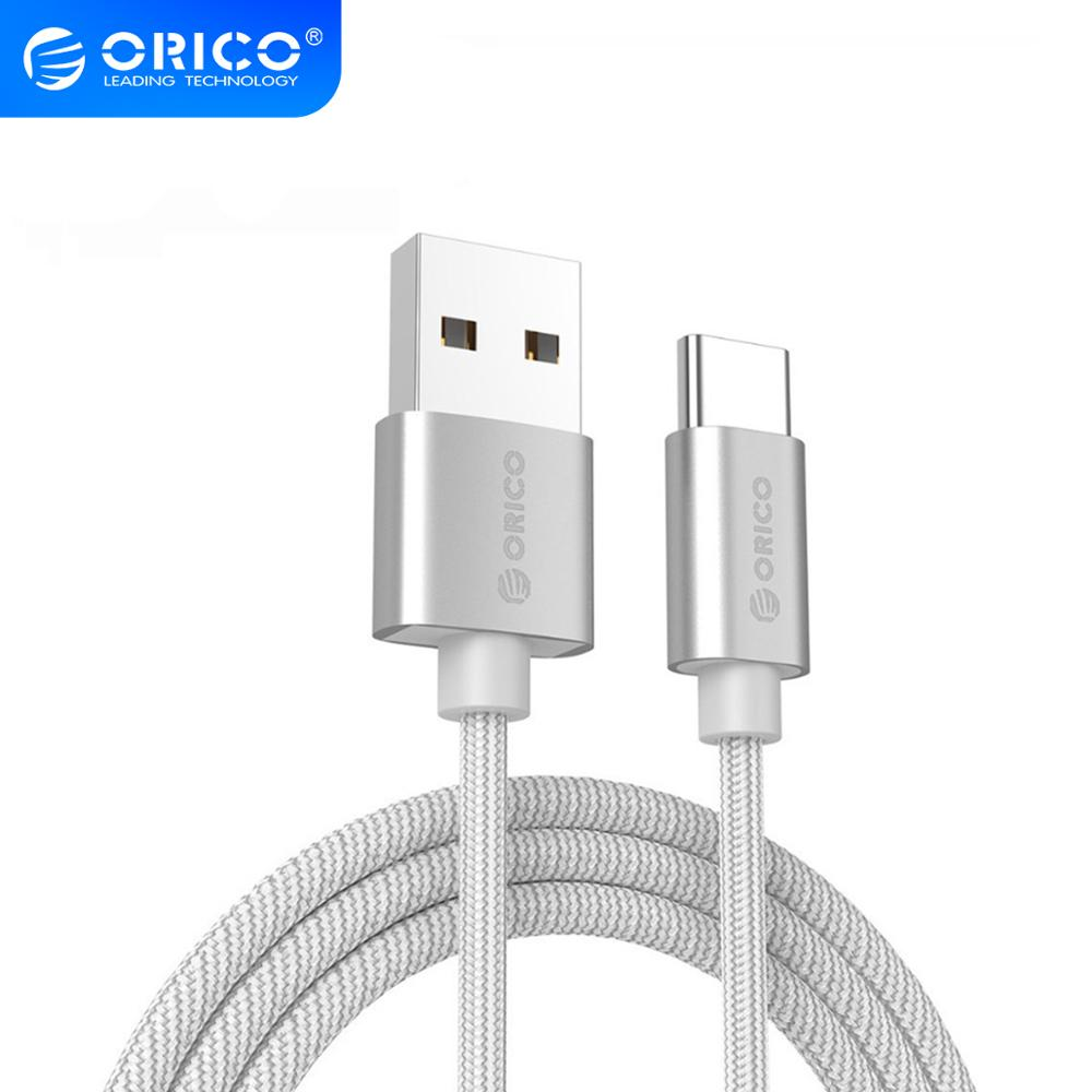 ORICO Nylon USB Type C Cable usb type c cables for xiaomi mi5 Oneplus LG Nexus 5x huawei samsung letv usb type c wire|cable for|usb type-c cabletype-c cable - AliExpress