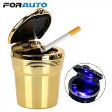 Forauto автомобильная пепельница со светодиодным синим светильник