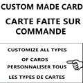 Dragon Ball card YU GI OH card Making a variety of cards Customized card dedicated link