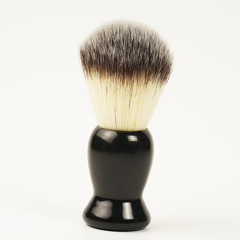 1pcs  Badger Hair Men's Shaving Brush Barber Salon Men Facial Beard Cleaning Appliance Shave Tool Razor Brush With Wood Handle