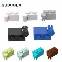 Hinge Brick Particle-Parts MOC Small Toys Building-Block Eeducation DIY Guduola 1x4 Top-3830