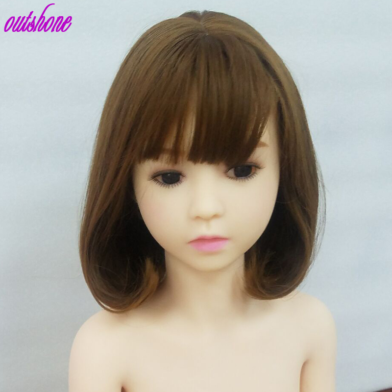 Free Shipping 128cm Flat Chest Small Sex Doll Japanese Cute Sex Doll Lifelike Mini Sex Doll For Men