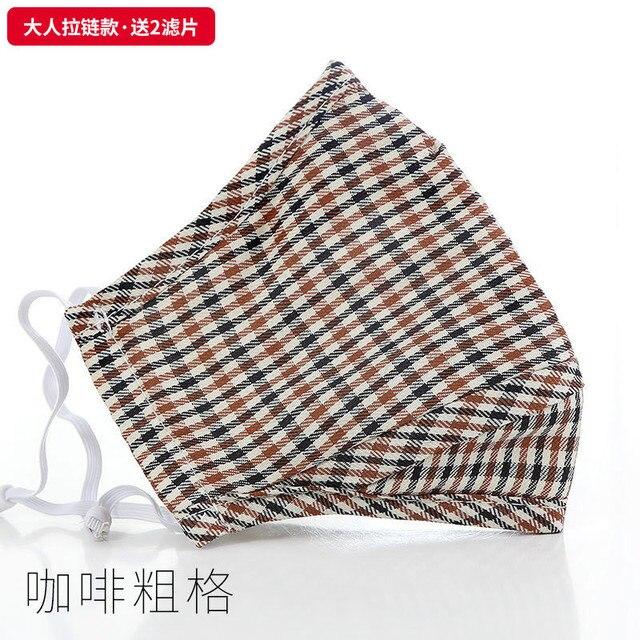 1 pc Unisex Print Washable Ear Protection Cotton Anti Dust Mask Adjustable Masks face mask flu bacterial 5