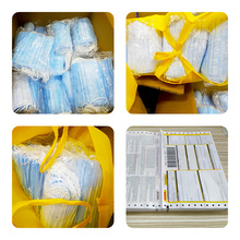 Face mask Disposable anti virus face masks 3-ply N95 Safely mouth mask 50pcs pm2.5 Apply to adult dust filter masque