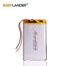 3,7 В литий-полимерный аккумулятор 2000 мА · ч, переговорное устройство 504270 GPS, автомобильный Регистратор данных путешествий, электронная книга