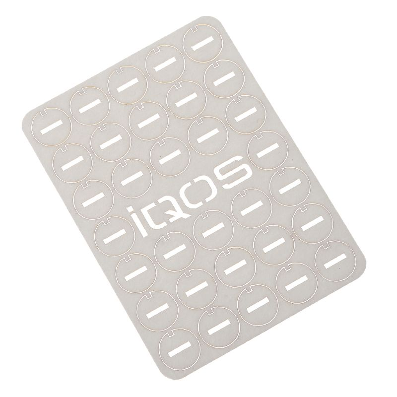 320Pcs Clean Tool Heat Resistant Little Slice Clean Gasket For IQOS 3.0 Absorb Oil Gasket Repair Accessory