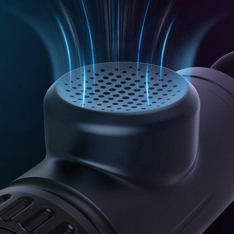 Электрический массажный пистолет расслабляющий фасции пистолет сенсорный экран низкий уровень шума перкуссия Вибрация терагун стимулято...