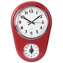 Reloj de pared grande Vintage reloj colgante hogar cocina temporizador sala de estar Diy Reloj de pared pegatina Reloj de pared balcón Decoración