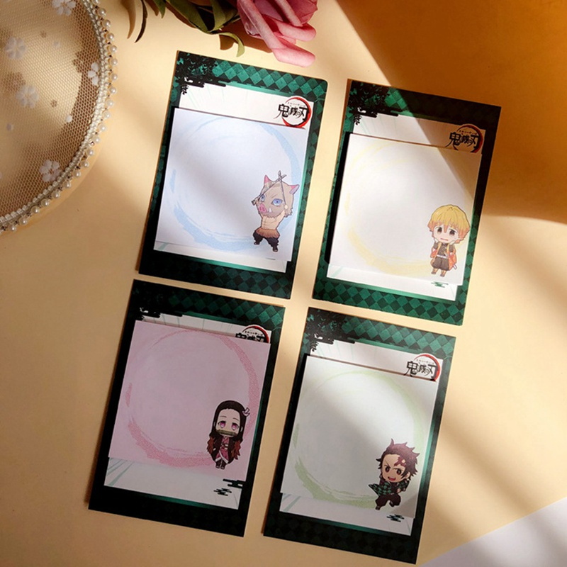 25 Pages Demon Slayer Kimetsu No Yaiba Anime Notes Child Student Kawaii Gift Office Stationery