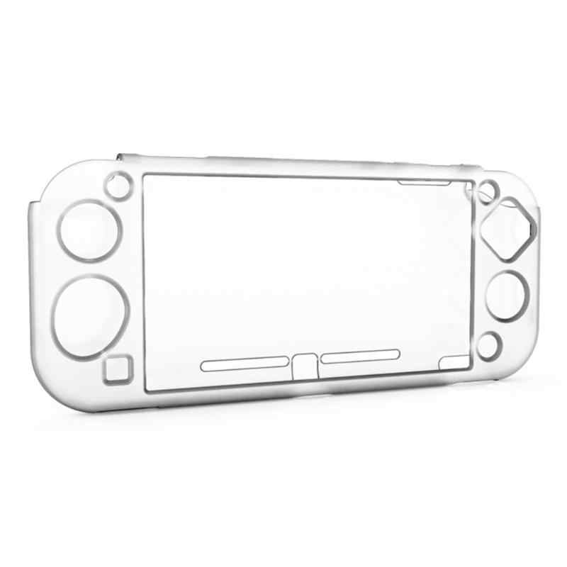 DOBE oyun konsolu şeffaf koruma kaymaz durumda oyun konsolu koruma çantası ana koruma kapağı anahtar Lite NS