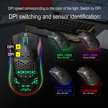 J900 Gaming Mouse 6400DPI Adjustable RGB Macro Programmable Mechanical Button Wired Mouse Game Mice For Windows10/8/7 2018 new usb2 0 3200dpi mechanical mouse game macro program metal compound water cooling game mouse for cf lol