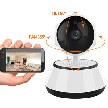 Home Security 720P IP Camera Wireless Smart WiFi Camera WI-FI Night Vision Surveillance Baby Monitor HD Mini CCTV Camera V380 hd 720p wireless ip camera wifi onvif video surveillance security cctv network wi fi camera infrared ir