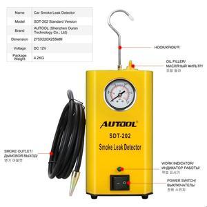 Image 4 - AUTOOL SDT202 Car Smoke Generator Automobile Smoke Leak Detector of Pipe Systems Smoke Leak Tester Pipe Diagnostic Wholesale