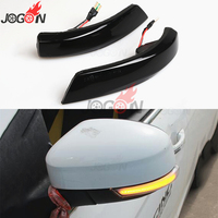Dynamic Turn Signal LED Side Mirror Sequential Indicator Blinker For Ford Focus 3 MK3 3.5 11 18 Car Light
