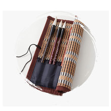 The-Case Calligraphy Maobi for Brush-Pen Curtain Bamboo Painting-Brushes 1pc