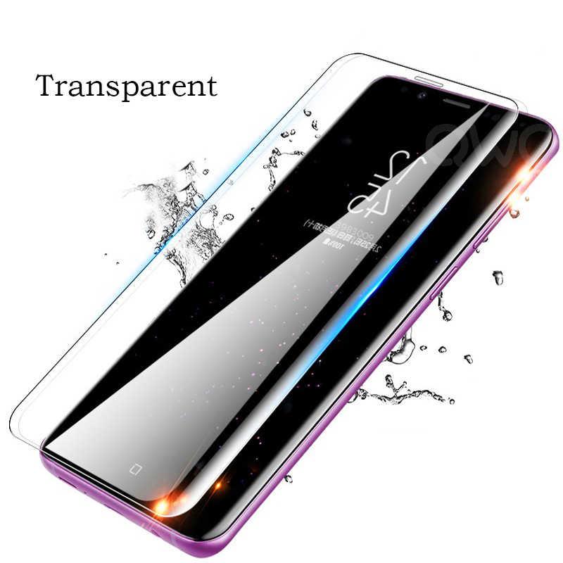 100D מעוקל מגן זכוכית לסמסונג גלקסי הערה 8 9 10 בתוספת מסך מגן עבור S10e S7 קצה S8 S9 s10 בתוספת מזג זכוכית
