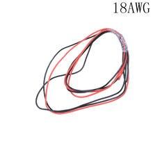 Новый красный + 1 м черный силиконовый провод 12awg 14awg 16awg