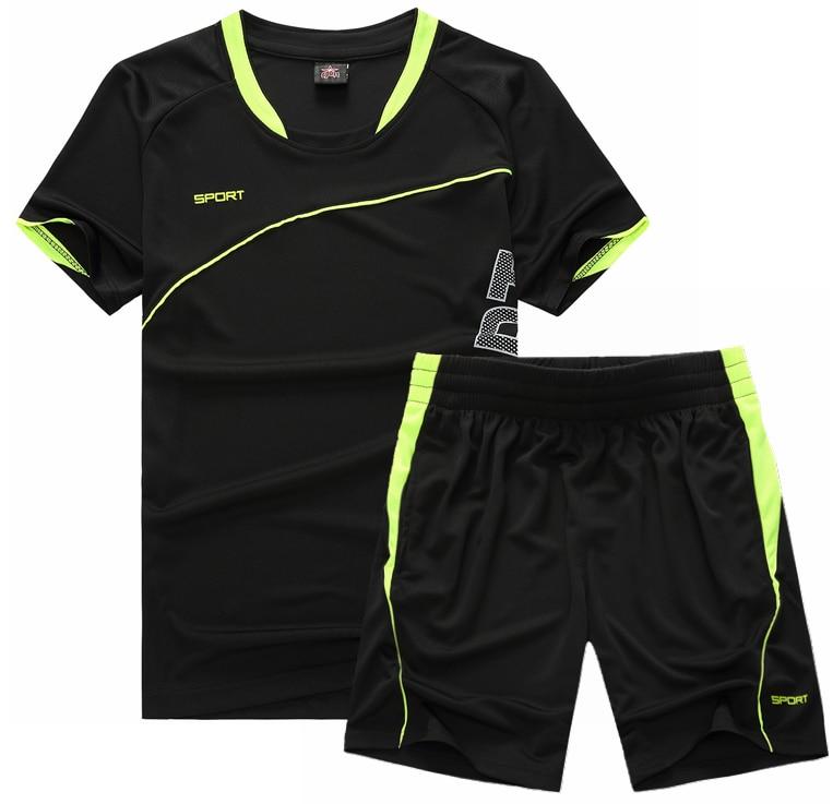 Новинка 2020, повседневные мужские короткие комплекты, летний однотонный спортивный костюм в полоску, 2 предмета, футболки + шорты, мужская спо...