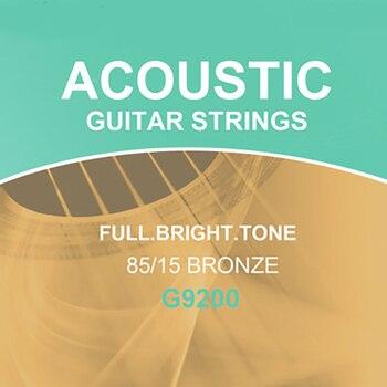 Acoustic Guitar Strings Steel-Core Set of 6 Universal Folk Guitars