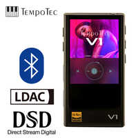 TempoTec Variationen V1 Hifi Digital MP3 Player OHNE analog und unterstützt Bluetooth LDAC IN & OUT für USB DAC & VERSTÄRKER