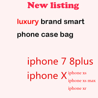 luxury brand Bag smart PHONE case for iphoneX XR XS max 7 8 11 pro for huawei xiaomi telefon Wallet Card Slots Cover accessory