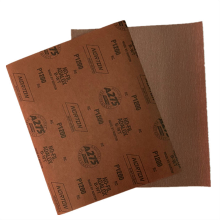 Saint-Gobain NORTON Sandpaper A275 Polishing Wood Furniture Dry Grinding Sandpaper Alumina Abrasive