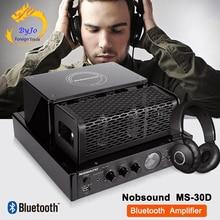 Nobsound MS 30DและMS 30D MKII Bluetoothเครื่องขยายเสียงหลอดเครื่องขยายเสียง 110V 220V Power Amplifier MS 10D MKIIอัพเกรด