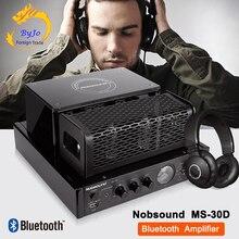 Nobsound MS 30D e MS 30D mkii amplificador bluetooth tubo amplificador de áudio 110 v 220 v amplificador potência MS 10D mkii atualizar