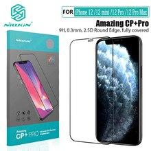Für iPhone 12 Pro Max Display-schutzfolien NILLKIN H/H + Pro CP + Pro Gehärtetem Glas Für iPhone 12 12 Pro / 12 mini Glas Vordere Film
